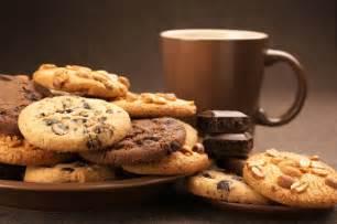 thé café biscuit